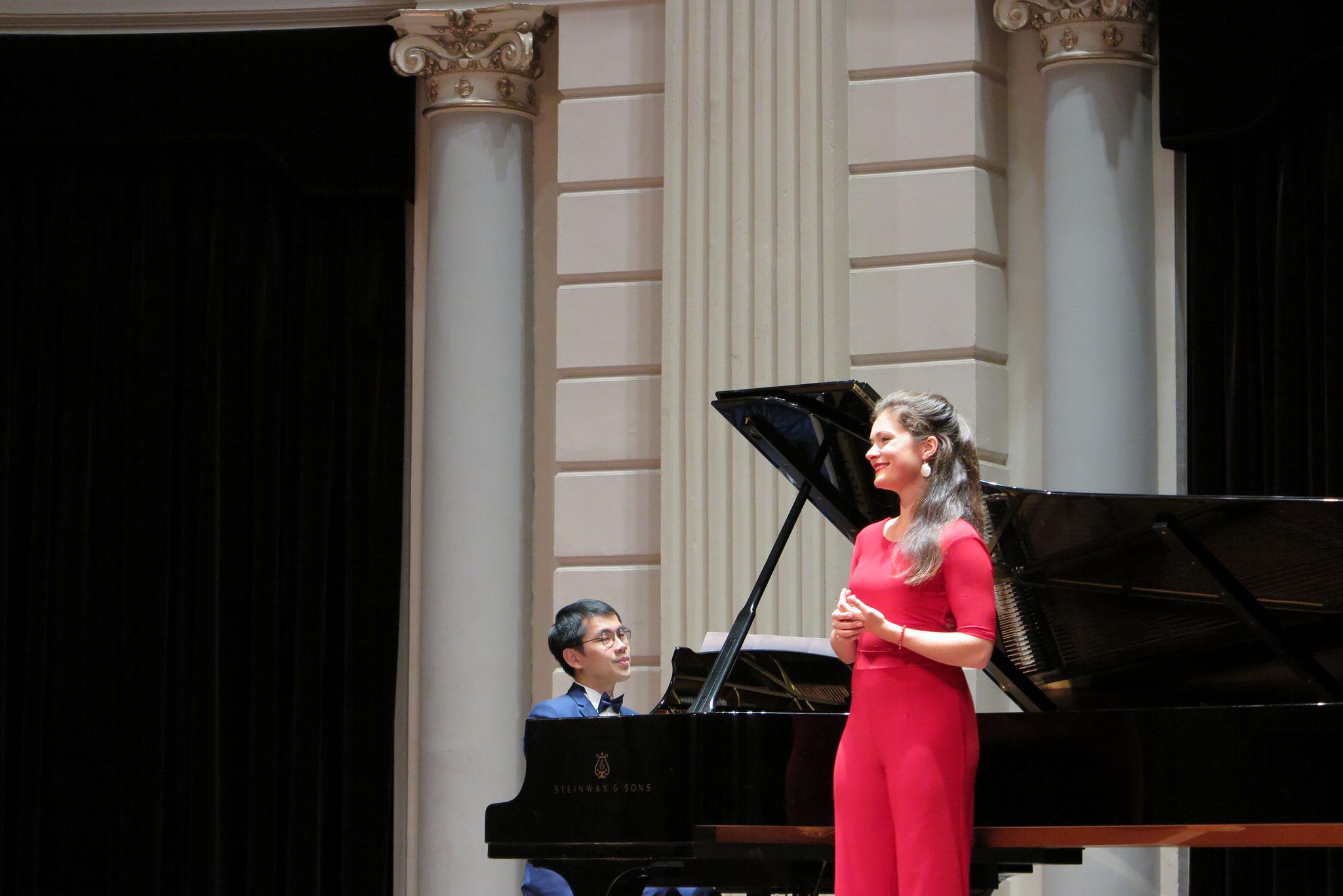 Song Recital @ Concertgebouw Amsterdam, Charlotte Houberg - Soprano, Felix Justin - Piano