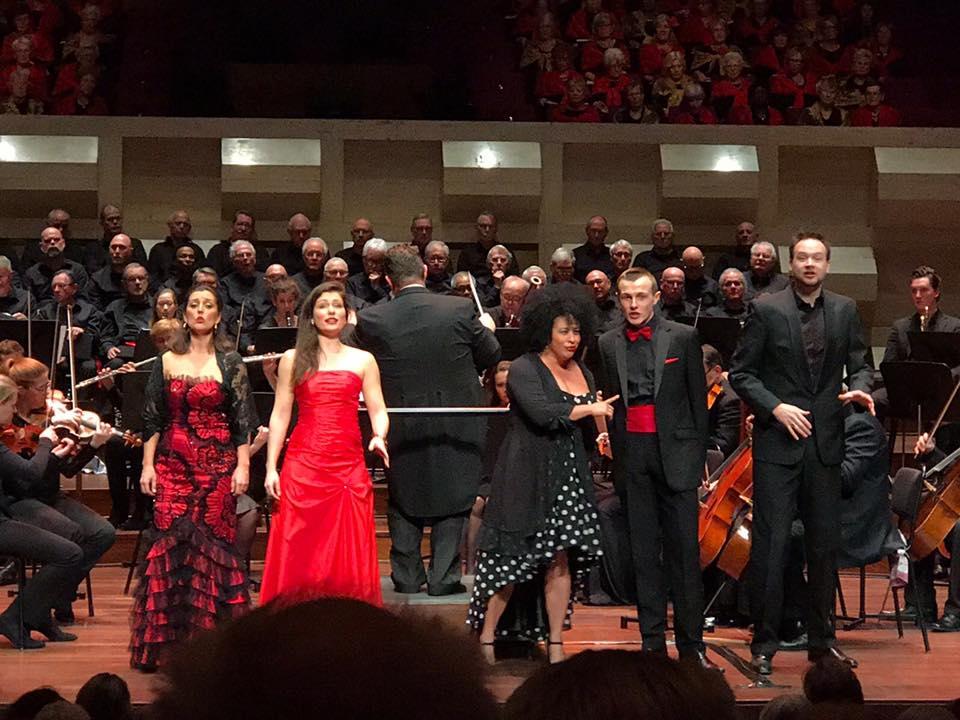 Frasquita, Carmen - Bizet, Rotterdams Opera Choir, De Doelen @ Rotterdam, Charlotte Houberg - Soprano