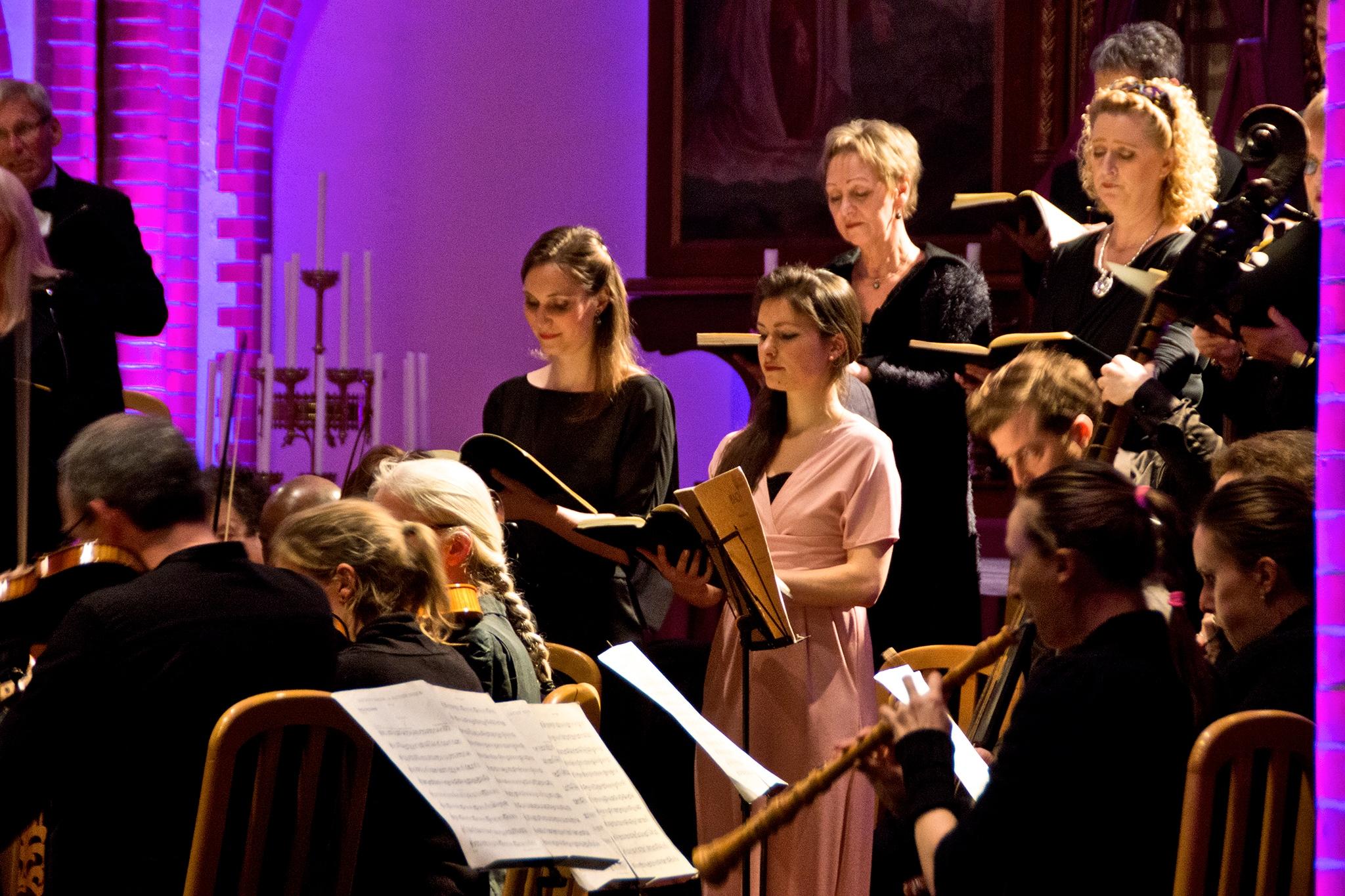 Mathew Passion @ Tegelen, Charlotte Houberg - Soprano, Rosina Fabius - Alto